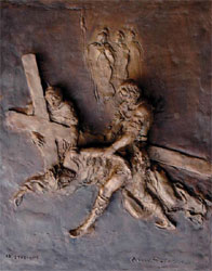 Gesù cade per la terza volta